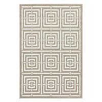 Trans Ocean Imports Liora Manne Monarchy Maze Geometric Rug