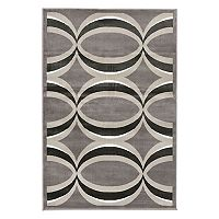 Trans Ocean Imports Liora Manne Monarchy Eclipse Geometric Rug