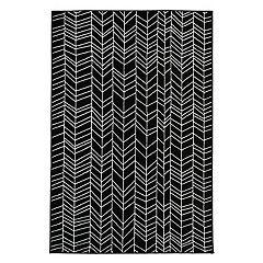 Liora Manne Monarchy Lines Geometric Rug