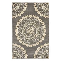 Trans Ocean Imports Liora Manne Nobility Circle Medallion Rug