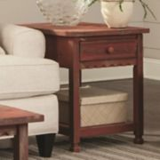 Alaterre Furniture Country Cottage End Table