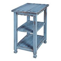 Alaterre Furniture Country Cottage 2-Shelf End Table