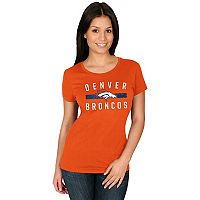 Women's Majestic Denver Broncos Franchise Fit Tee