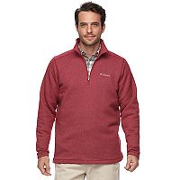 Big & Tall Columbia Ortega Oaks Quarter-Zip Fleece Jacket
