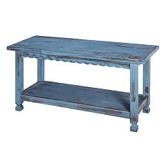Alaterre Furniture Country Cottage  Bench