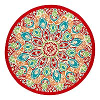 SONOMA Goods for Life™ Global Medallion Indoor Outdoor Rug - 6'7'' Round