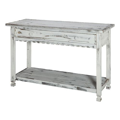 Alaterre Furniture Country Cottage Console Table