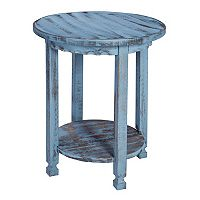 Alaterre Furniture Country Cottage Round End Table