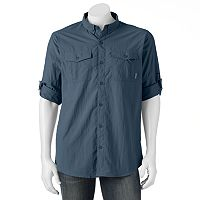 Men's Columbia Omni-Shade Glen Meadow Button-Down Shirt