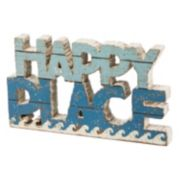 """Happy Place"" Table Decor"