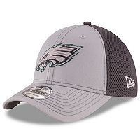 Adult New Era Philadelphia Eagles Neo Grayed Out 39THIRTY Flex-Fit Cap