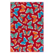 SONOMA Goods for Life? Butterfly Indoor Outdoor Rug