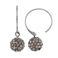 Simply Vera Vera Wang Fireball Nickel Free Semi-Hoop Earrings