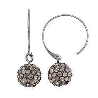 Simply Vera Vera Wang Fireball Nickel Free Semi-Hoop Earrings