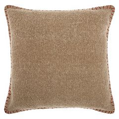 Mina Victory Lifestyles Stitched Border Throw Pillow