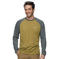 Big & Tall Columbia Wildberry Classic-Fit Colorblock Omni-Wick Raglan Tee