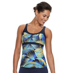 Women's ZeroXposur Printed Empire Tankini Top