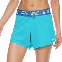 Women's Nike Dry Training Fold Over Shorts