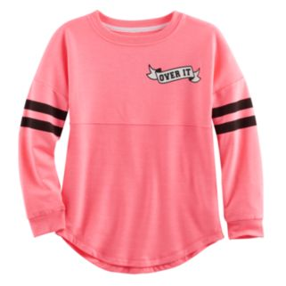 Girls 7-16 Miss Chievous Graphic Sweeper Tee