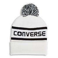 Women's Converse Wordmark Knit Pom Pom Beanie
