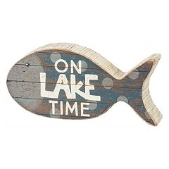 'On Lake Time' Table Decor