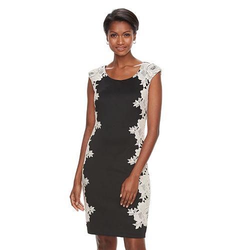 Women's Jax Floral Lace Sheath Dress