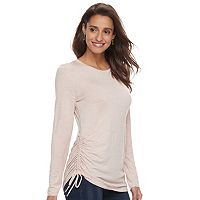 Women's Apt. 9® Ruched Drawstring Tunic