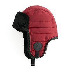 Converse Women's Quilted Faux Fur Trapper Hat