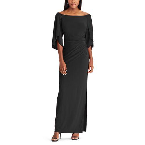 Women's Chaps Off the Shoulder Evening Dress