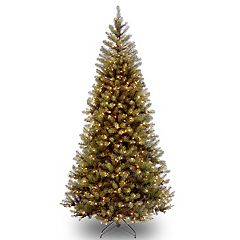 National Tree Company 6-ft. Clear Pre-Lit Aspen Spruce Artificial Christmas Tree