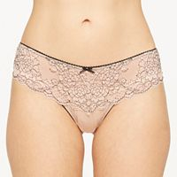 Women's Montelle Intimates Lace Brazilian Panty 9293