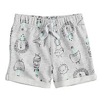 Baby Boy Jumping Beans® Print French Terry Shorts