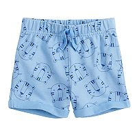 Baby Girl Jumping Beans® Print French Terry Shorts