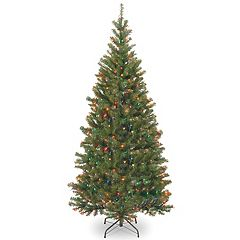 National Tree Company 6-ft. Multicolored Pre-Lit Aspen Spruce Artificial Christmas Tree