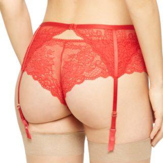 Women's Montelle Intimates Lace Garter Belt 9295