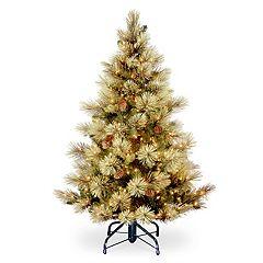 National Tree Company 4.5-ft. Pre-Lit Carolina Pine Artificial Christmas Tree