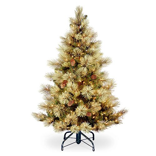 National Tree Company 4.5-ft. Pre-Lit Carolina Pine Artificial Christmas Tree