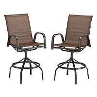SONOMA Goods for Life Coronado Patio Dining Bar Stool 2-Pcs. Set + $20 Kohls Cash