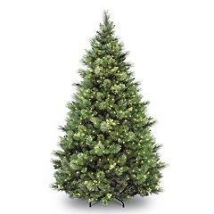 National Tree Company 7-ft. Pre-Lit Carolina Pine Artificial Christmas Tree