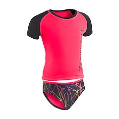 Girls 7-16 Under Armour Prism Rashguard & Bottoms Swimsuit Set