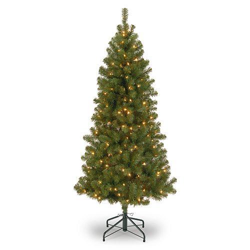 National Tree Company 7-ft. Pre-Lit Canadian Grande Fir Artificial Christmas Tree