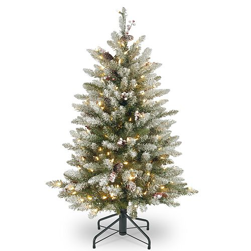National Tree Company 4.5-ft. Pre-Lit Dunhill Fir Artificial Christmas Tree - National Tree Company 4.5-ft. Pre-Lit Dunhill Fir Artificial
