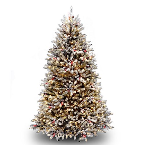 national tree company 65 ft pre lit dunhill fir artificial christmas tree