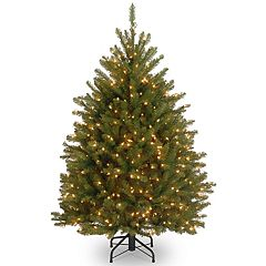 National Tree Company 4-ft. Pre-Lit Dunhill Fir Artificial Christmas Tree