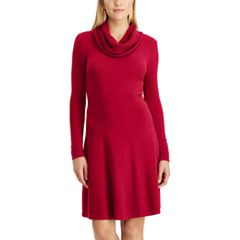 Women's Chaps Cowlneck Sweater Dress