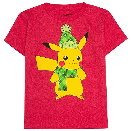 Boys 4-10 Jumping Beans® Festive Pikachu Graphic Tee