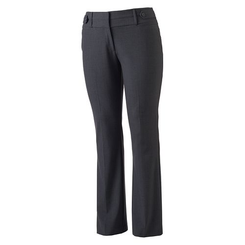 Juniors' Plus Size Candie's® Marilyn Curvy Bootcut Pants