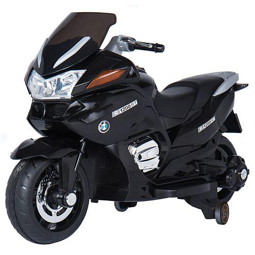 Blazin Wheels Black 12V Ride-On Motorcycle