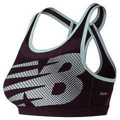 New Balance Sports Bra: Metro Run Medium-Impact WB61310