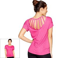Women's Colosseum Moxie Strappy Back Top